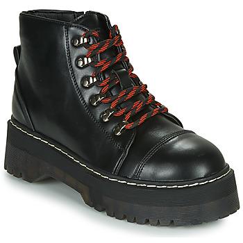 Schuhe Damen Boots Coolway ABLIS Schwarz / Rot