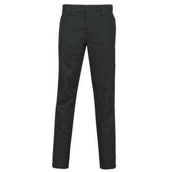 Kleidung Herren 5-Pocket-Hosen Dickies SLIM FIT WORK PNT Schwarz