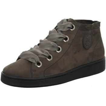 Schuhe Damen Sneaker High Cruza Tendencia Schnuerschuhe 12270 grau