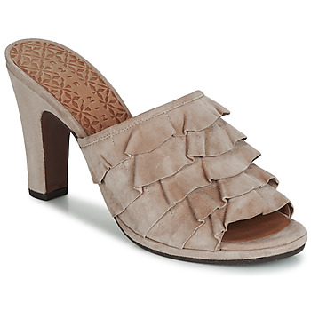 Schuhe Damen Pantoffel Chie Mihara ABEJA Beige