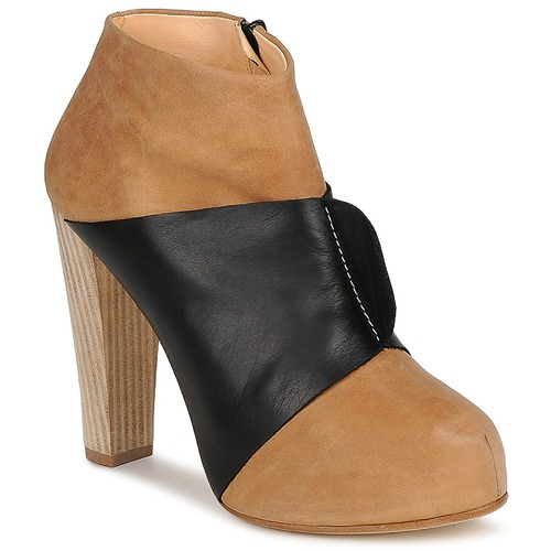 Terhi Polkki EINY Beige / Schwarz Schuhe Low Boots Damen 127,60