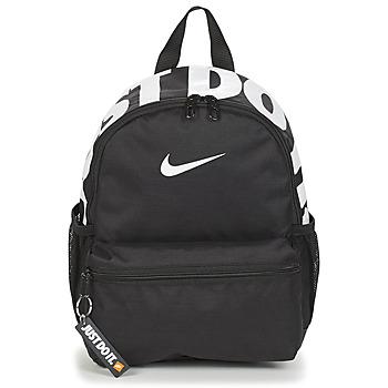 Taschen Kinder Rucksäcke Nike Y NK BRSLA JDI MINI BKPK Schwarz