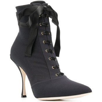 Schuhe Damen Low Boots D&G CT0471 AZ161 nero