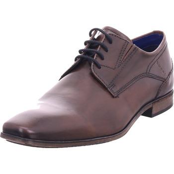 Schuhe Herren Derby-Schuhe Bugatti Lari dark brown