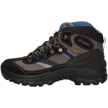 Schuhe Damen Wanderschuhe Grisport 13316S30G BLACK