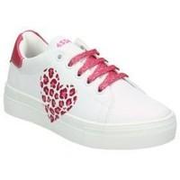 Schuhe Kinder Tennisschuhe Asso AG550-851 blanc