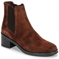 Schuhe Damen Low Boots Casual Attitude LIOO Camel