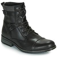 Schuhe Herren Boots Casual Attitude RIVIGH Schwarz