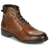 Schuhe Herren Boots Casual Attitude LULLY Cognac