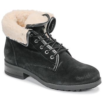 Schuhe Damen Boots Casual Attitude LEILA Schwarz