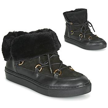 Schuhe Damen Schneestiefel Casual Attitude LONE Schwarz