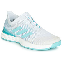 Schuhe Damen Laufschuhe adidas Performance ADIZERO UBERSONIC 3M X PARLEY Weiss / Blau