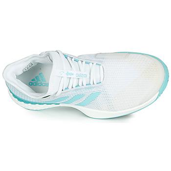 adidas Performance ADIZERO UBERSONIC 3M X PARLEY Weiss / Blau - Kostenloser Versand |  - Schuhe Laufschuhe Damen 9797