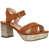 Schuhe Damen Sandalen / Sandaletten Chika 10 NEW CLOE 06 Marrón