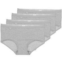 Unterwäsche Damen Damenslips Sloggi BASIC+ X 4 Grau
