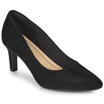 Schuhe Damen Pumps Clarks CALLA ROSE Schwarz