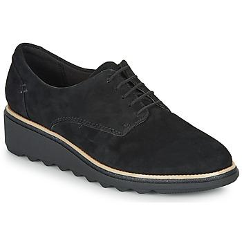 Schuhe Damen Derby-Schuhe Clarks SHARON NOEL Schwarz