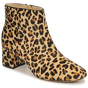 Schuhe Damen Low Boots Clarks SHEER FLORA Leopard