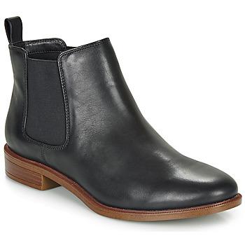 Schuhe Damen Boots Clarks TAYLOR SHINE Schwarz