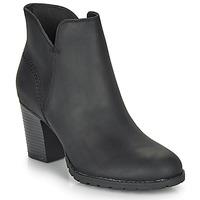 Schuhe Damen Low Boots Clarks VERONA TRISH Schwarz