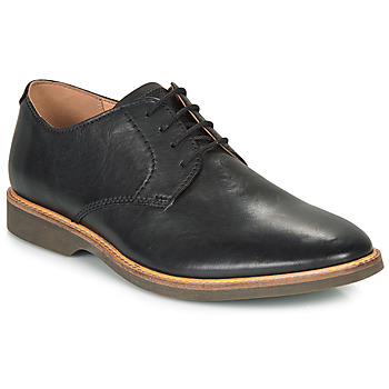 Schuhe Herren Derby-Schuhe Clarks ATTICUS LACE Schwarz