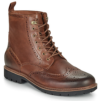 Schuhe Herren Boots Clarks BATCOMBE LORD Camel