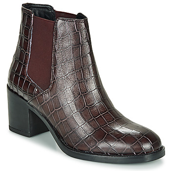 Schuhe Damen Low Boots Clarks MASCARPONE Bordeaux