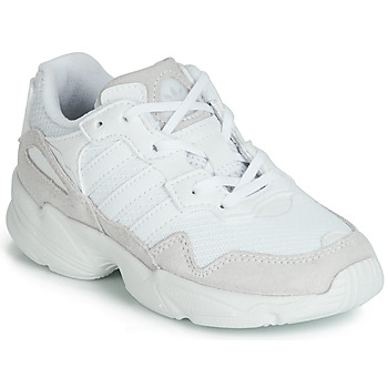 Schuhe Kinder Sneaker Low adidas Originals YUNG-96 C Weiss