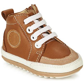 Schuhe Kinder Boots Robeez MIGO Cognac