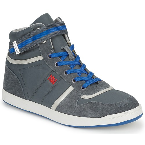 Dorotennis BASKET NYLON ATTACHE Grau  Schuhe Sneaker High Damen 51,92