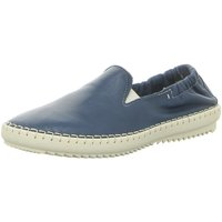 Schuhe Damen Slipper Camel Active Slipper Ethnic 70 880.70.01 blau