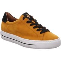 Schuhe Damen Sneaker Low Paul Green 4835 4835-005 orange
