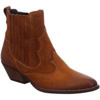 Schuhe Damen Boots Paul Green Stiefeletten 9549 9549-015 braun