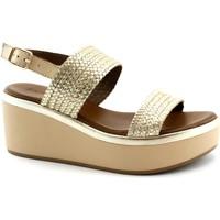 Schuhe Damen Sandalen / Sandaletten Inuovo INU-E19-124017-GO Oro
