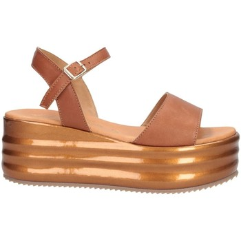 Schuhe Damen Sandalen / Sandaletten David Haron SISI PE CUOIO Sandalen Frau Leder Leder