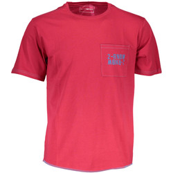 Kleidung Herren T-Shirts Gas GATS01TROPIC AB30 ROTES TROPISCHES ROT