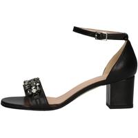 Schuhe Damen Sandalen / Sandaletten Soffice Sogno E9445C BLACK