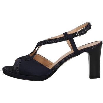 Schuhe Damen Sandalen / Sandaletten Soffice Sogno E9394 BLUE