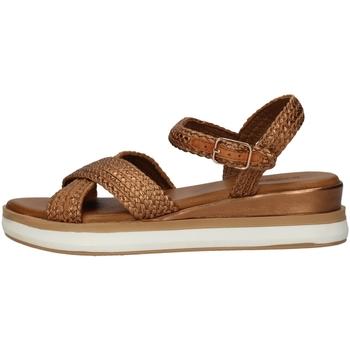 Schuhe Damen Sandalen / Sandaletten Inuovo 113001 BROWN