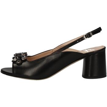 Schuhe Damen Sandalen / Sandaletten Musella S19573 Schwarz