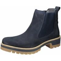 Schuhe Damen Boots Camel Active Stiefeletten Diamond 72 8917203 blau
