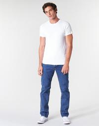 Kleidung Herren Straight Leg Jeans Levi's 514 STRAIGHT Stonewash / Paillettenschwarz / T2