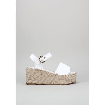 Schuhe Damen Sandalen / Sandaletten Senses & Shoes FABIOLA Weiss