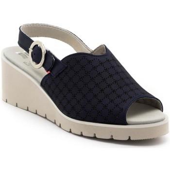 Schuhe Damen Sandalen / Sandaletten CallagHan 24605 blau