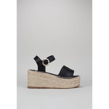 Schuhe Damen Sandalen / Sandaletten Senses & Shoes FABIOLA Schwarz