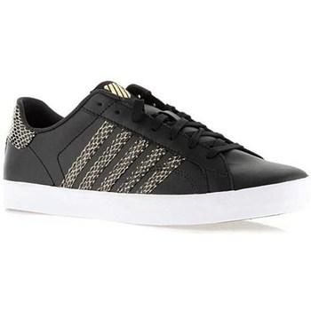 Schuhe Damen Sneaker Low K-Swiss Belmont SO Schwarz, Golden
