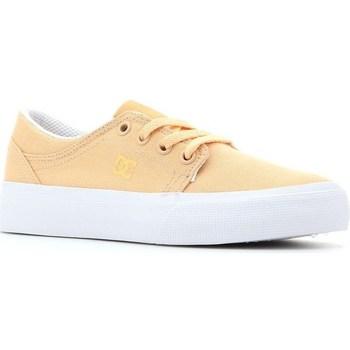 Schuhe Kinder Tennisschuhe DC Shoes Trase TX Gelb