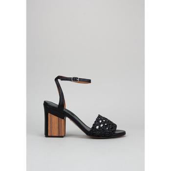 Schuhe Damen Sandalen / Sandaletten Krack WISTERIA Schwarz