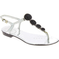 Schuhe Damen Sandalen / Sandaletten Barbara Bui J5407 SPJ 8010 argento