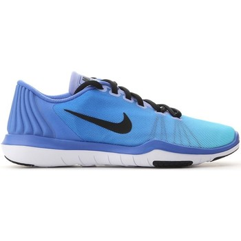 Schuhe Damen Sneaker Low Nike Flex Supreme TR 5 Fade Blau